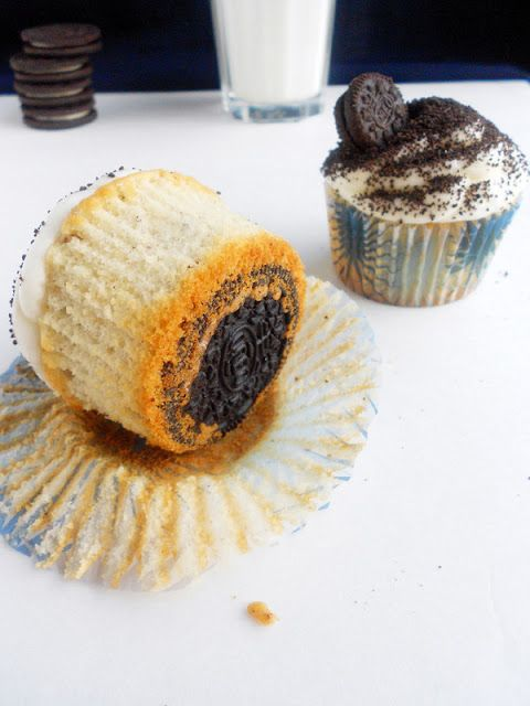 Culinary Couture: Cookies and Cream Cupcakes