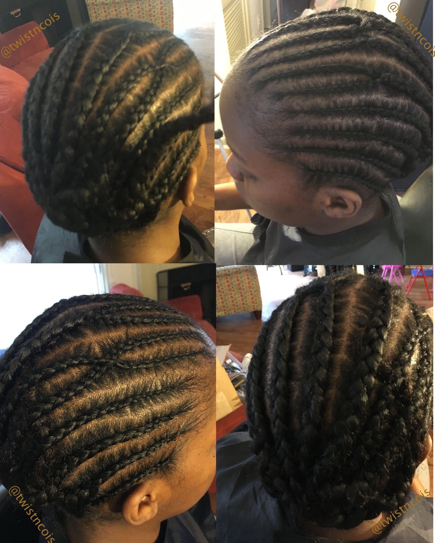 Crochet box braids, braid pattern ~TnC~ # crochetboxbraids ...
