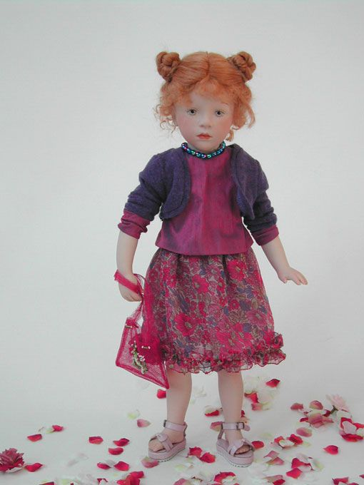 Sylvia Natterer FACES collection doll, 2006
