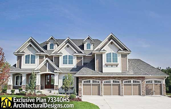 Dad\u0027s Dream Home Plan 73340HS With indoor basketball court