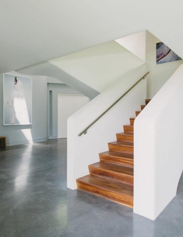 treppe in minimalistischem stil bilder, moderne treppen im minimalistischen stil – weniger ist mehr, Design ideen