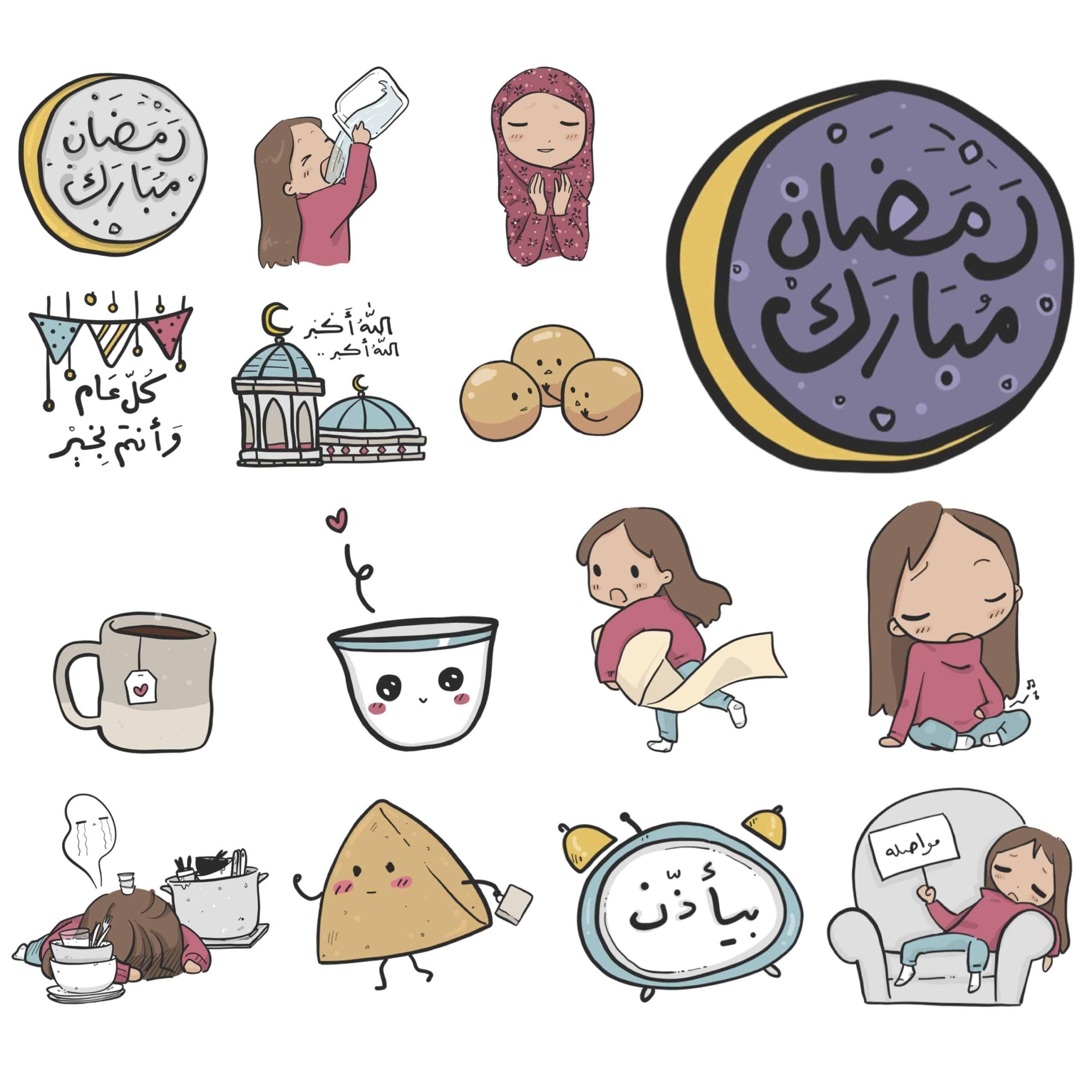 ستكرات طفلة في شهر رمضان في قمة الروعة In 2021