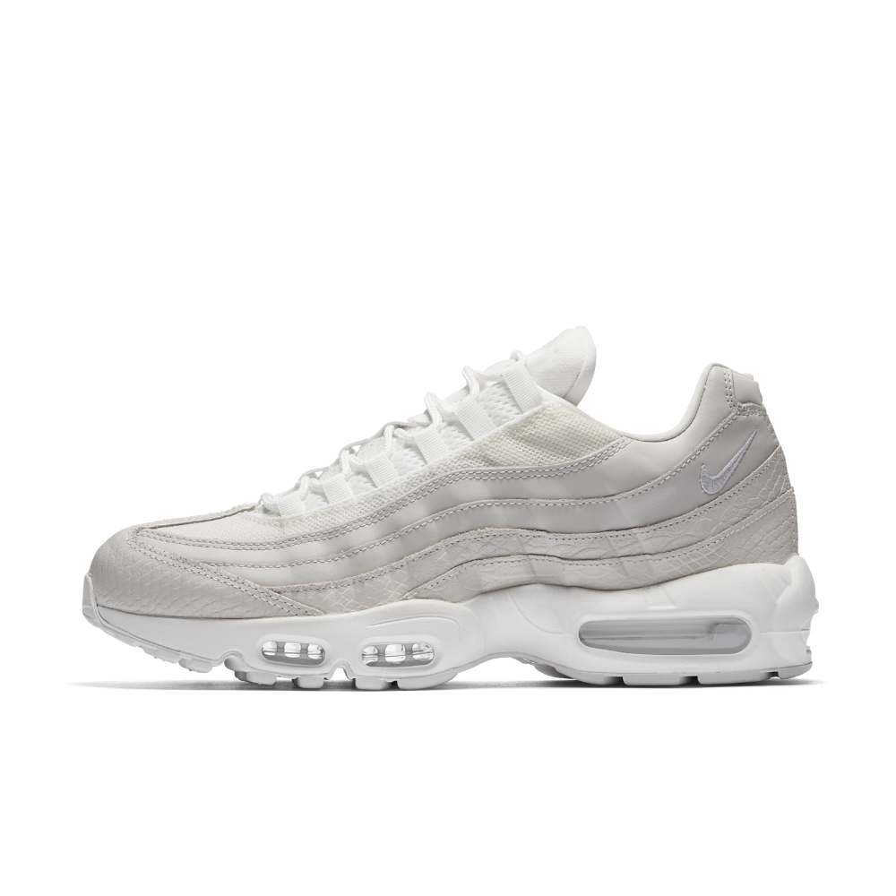 Nike Air Max 95 Premium Men's Shoe Size 12 (White)   Nike