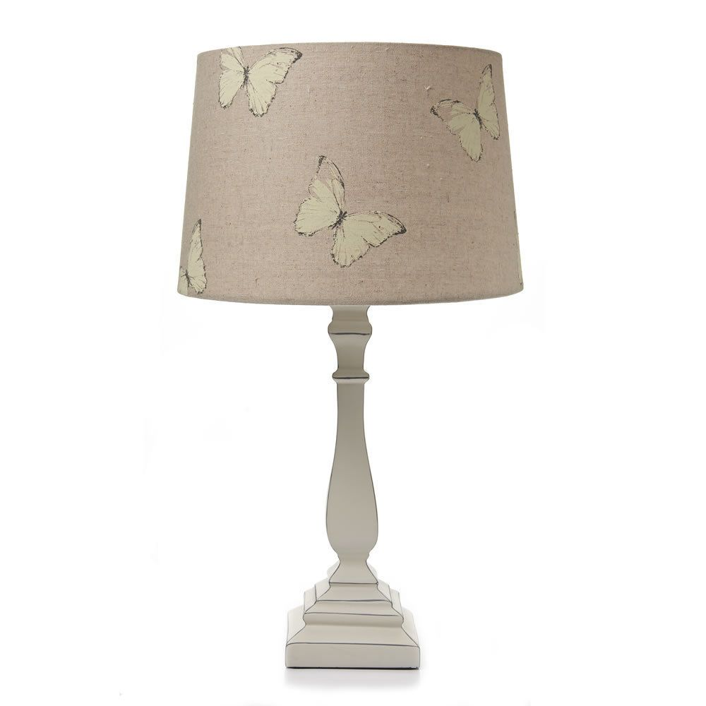 shabby chic butterfly table lamp bedroom home t new french