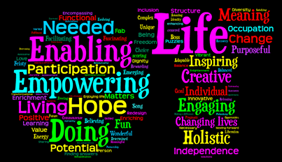 How about this awesome word cloud created by the British