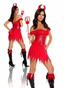 Female Halloween Costumes · //.sexiesthalloweencostumes.org/buycostumes Sexy red devil costume with  sc 1 st  Pinterest & http://www.sexiesthalloweencostumes.org/buycostumes Sexy red devil ...
