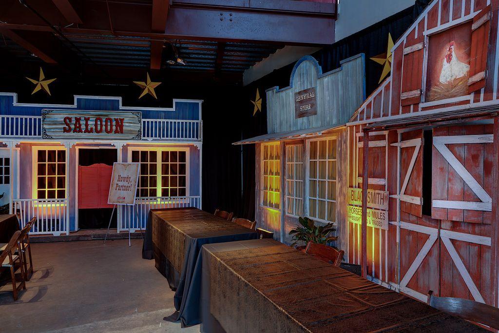 Wild West Saloon Event | Austin Music Hall