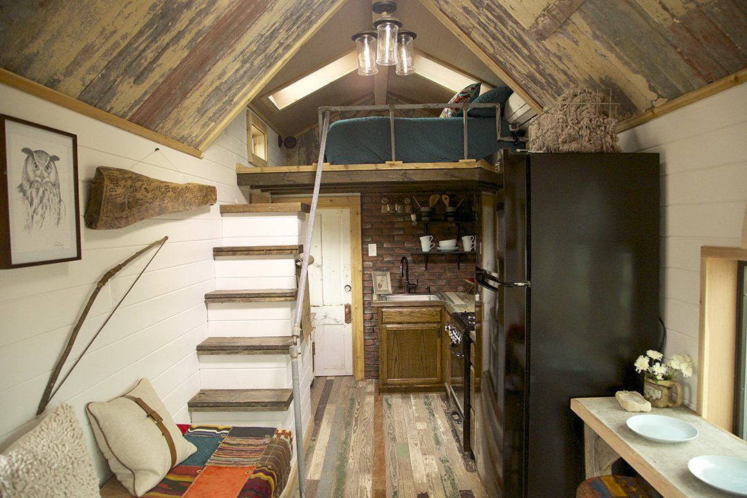 bird house on tiny house nation gooseneck and two lofts - Tiny House Trailer Interior