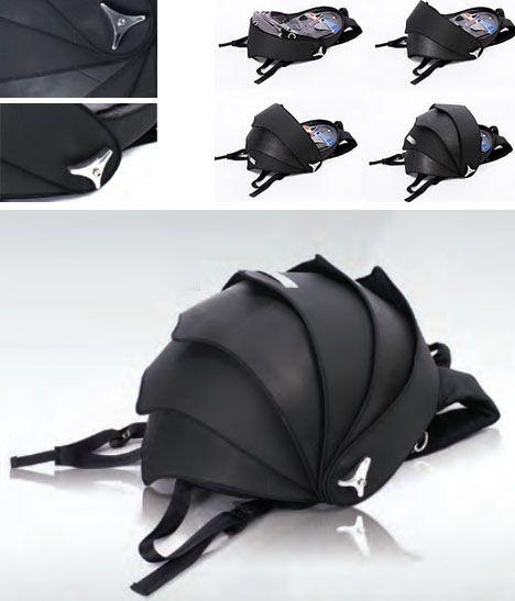 Rugged Rucksack Armadillo Shelled Hard Case Backpack Backpacks Armadillo Cool Backpacks