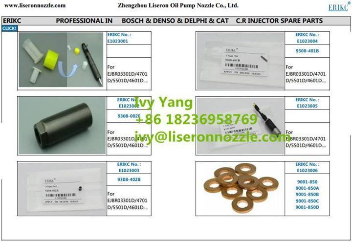 Delphi Injector Spare Parts for Common Rail Diesel Center