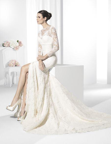 Vestidos de novia en encaje chantilly