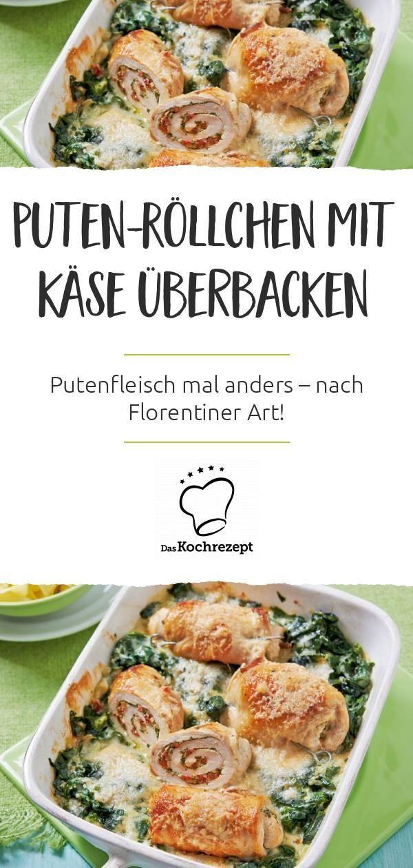"""Puten-Röllchen """"Florentiner Art"""""""