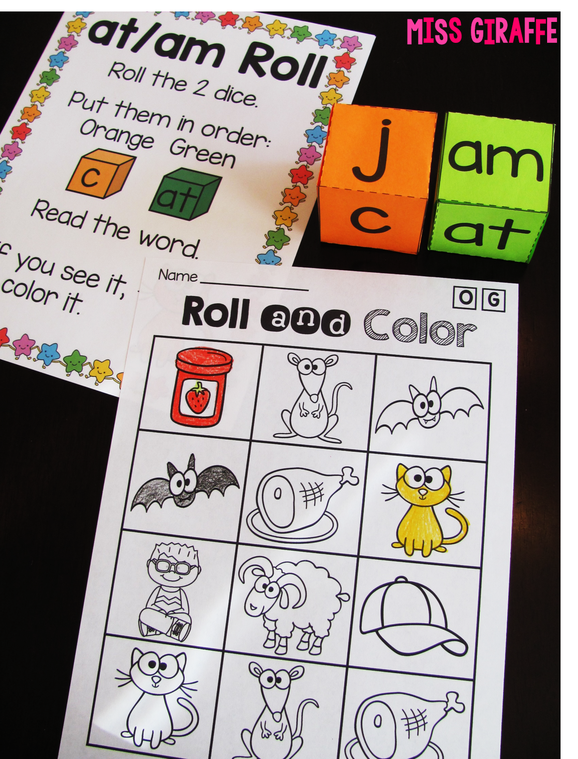 Miss Giraffe S Class Short A Activities And Resources Including Freebies