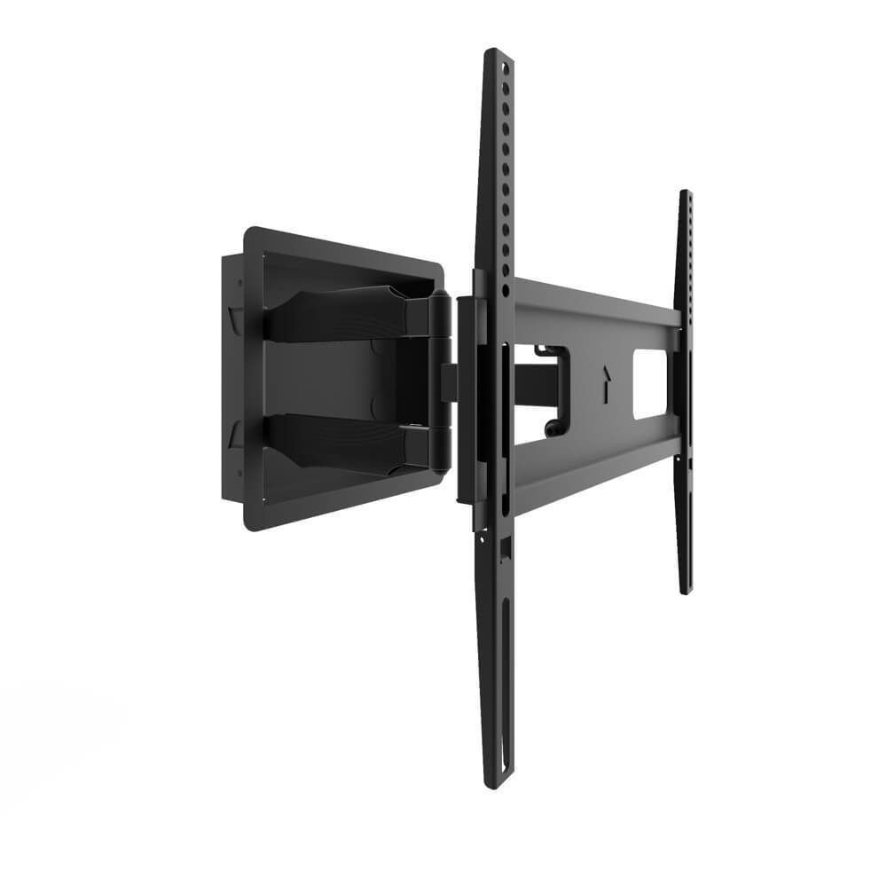 Kanto R300 Recessed In Wall Full Motion Tv Mount For 32 To 55 Tvs With Images Wall Mounted Tv Tv Wall Diy Tv Wall Mount