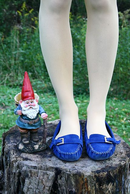 I need a pair of these moccasins. And probably the gnome too.