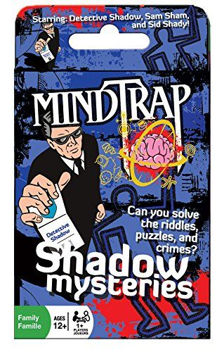 Mind Trap Mystery Card Game Shadow Mysteries The Ultimate Crime Mystery Card Game Visit The Image Link More Details Card Games Fun Games For Kids Mystery