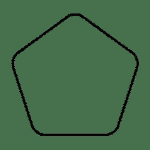 Rounded Pentagon Icon Ad Affiliate Affiliate Icon Pentagon Rounded Pentagon Icon Mo Design