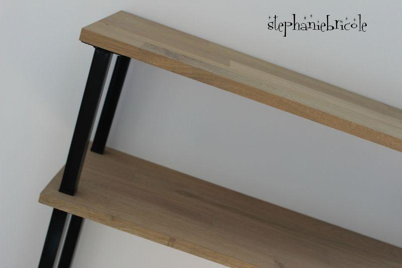 DIY déco - faire un meuble console au style industriel soi même