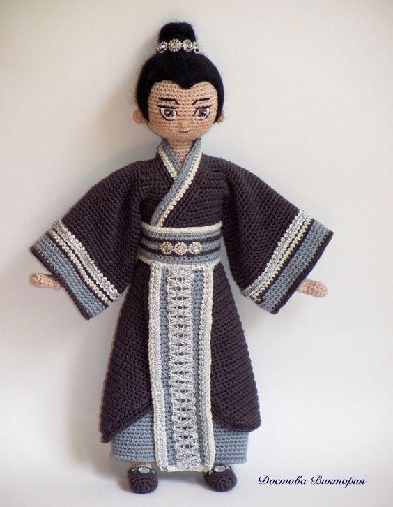 muneca oriental crochet-otakulandia.es (26) | tejidos | Pinterest ...