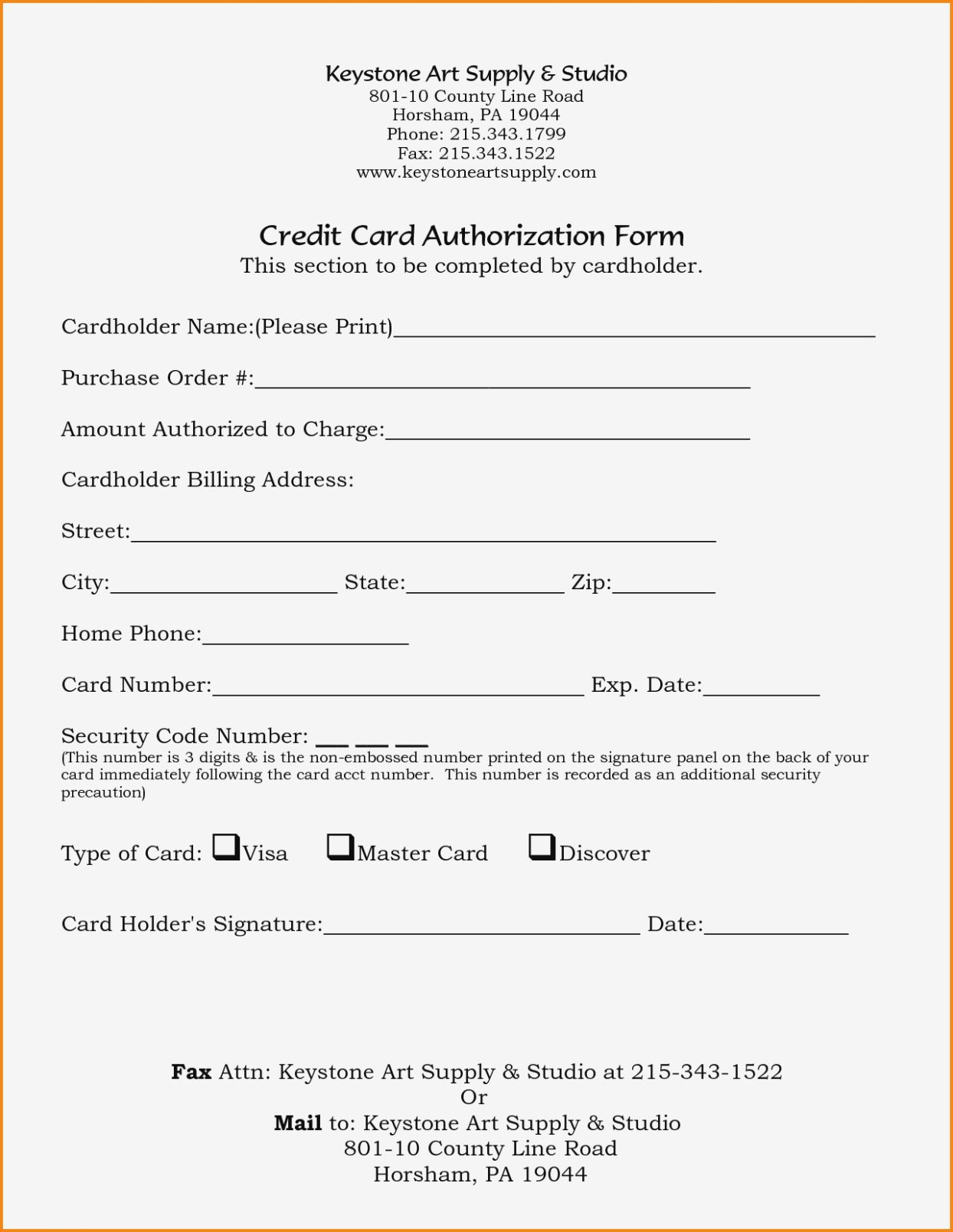 21 Credit Card Authorization Form Template Pdf Fillable 2019 Within Corporate Credit Card Agreement Template Best Template Ideas