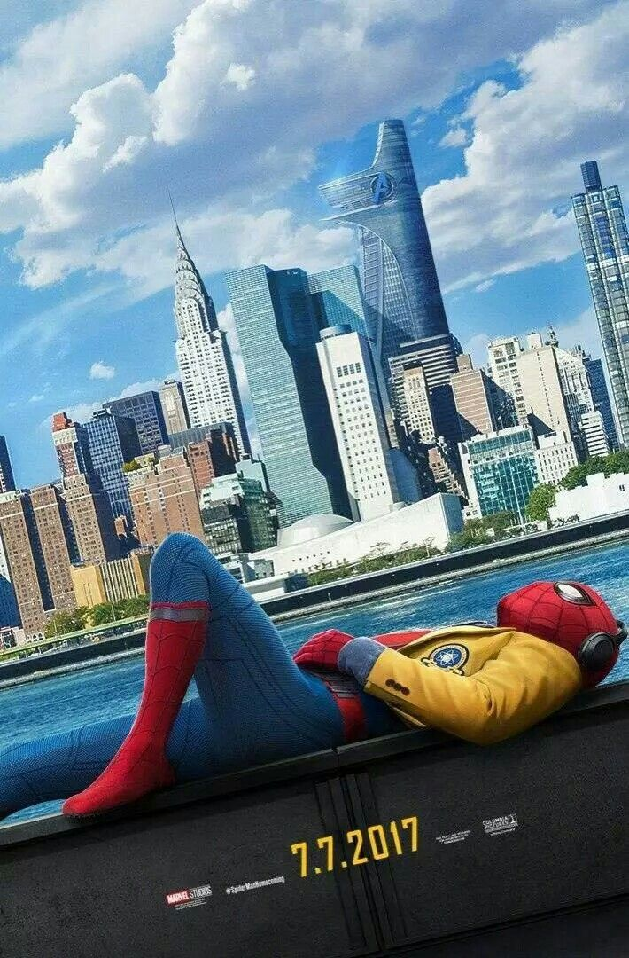 Spider-Man Homecoming Poster!