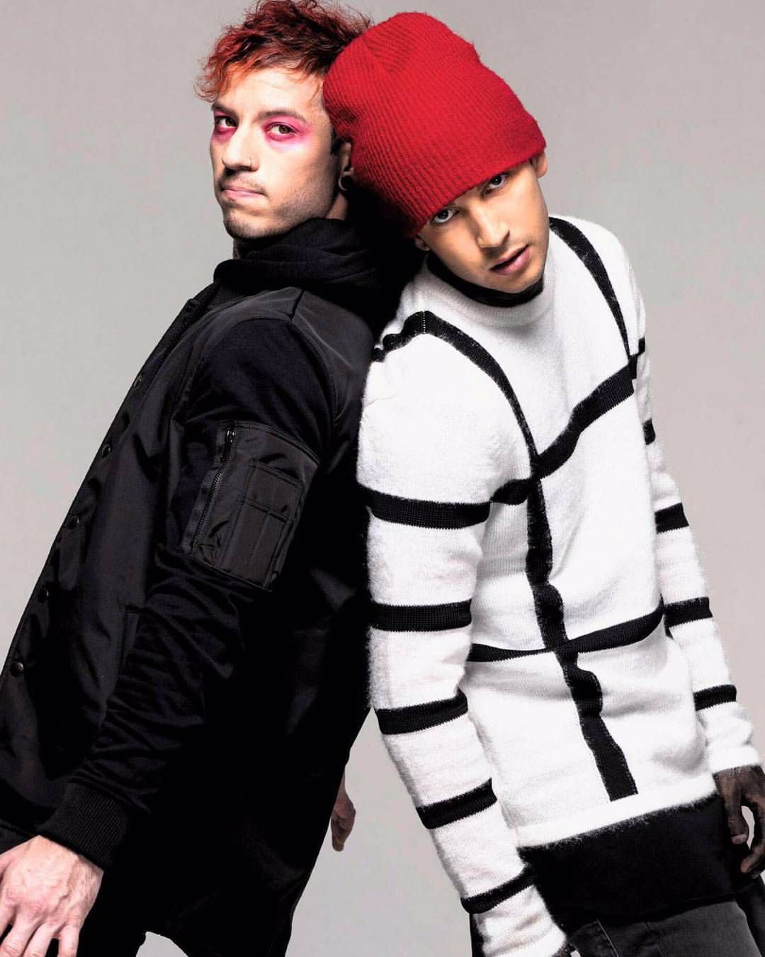 Tyler Joseph and Josh Dun of Twenty Øne Piløts One