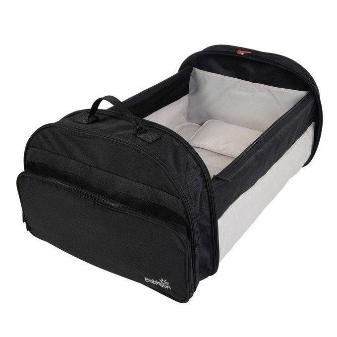 Babysun Barri/ère de lit pliable avec sac de transport Grise