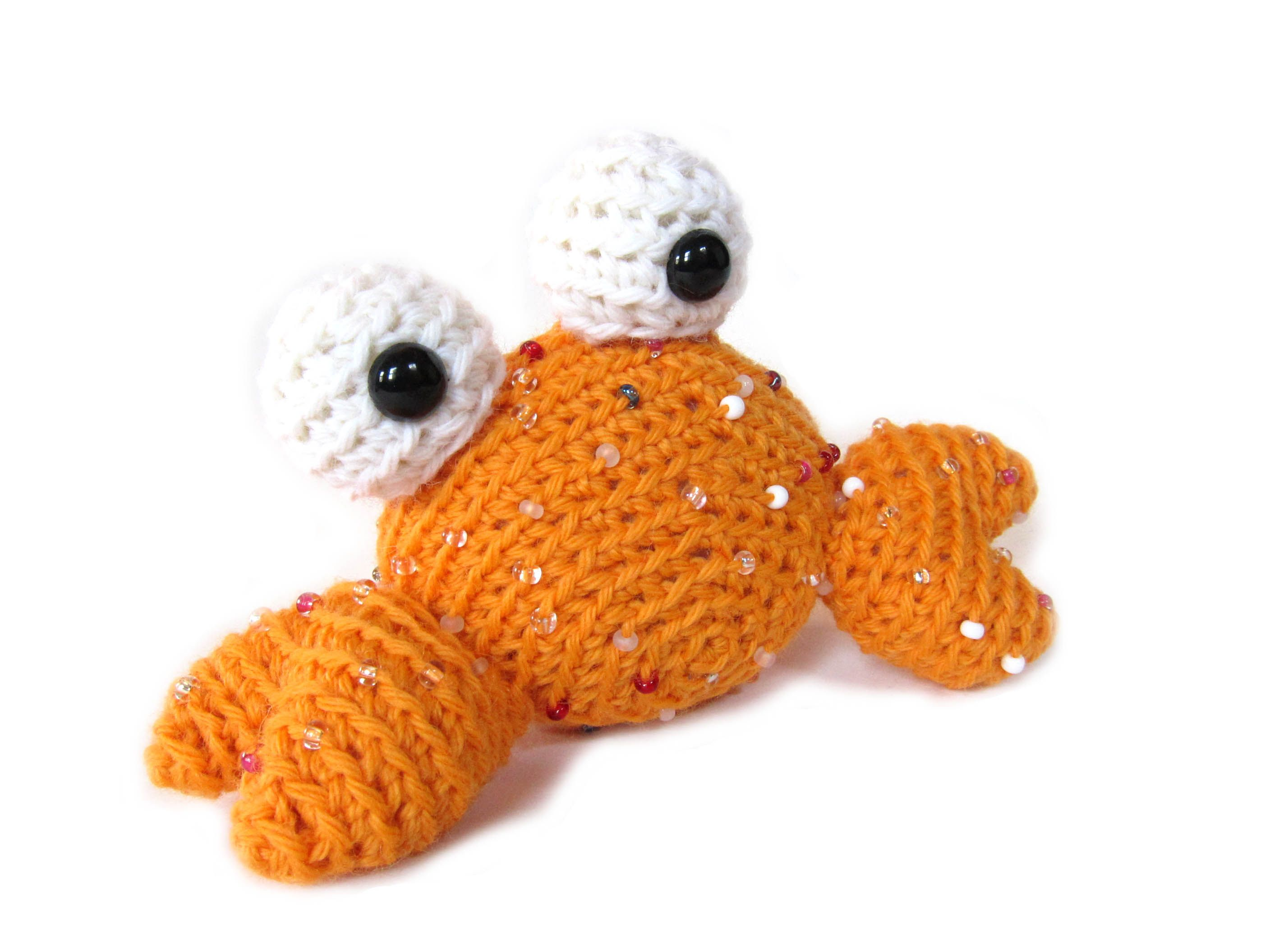 Tutorial: How to crochet with beads (video).