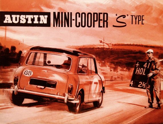 Original 1960u0027s Austin u0027Su0027 type mini-cooper sales brochure Mini - sales brochure