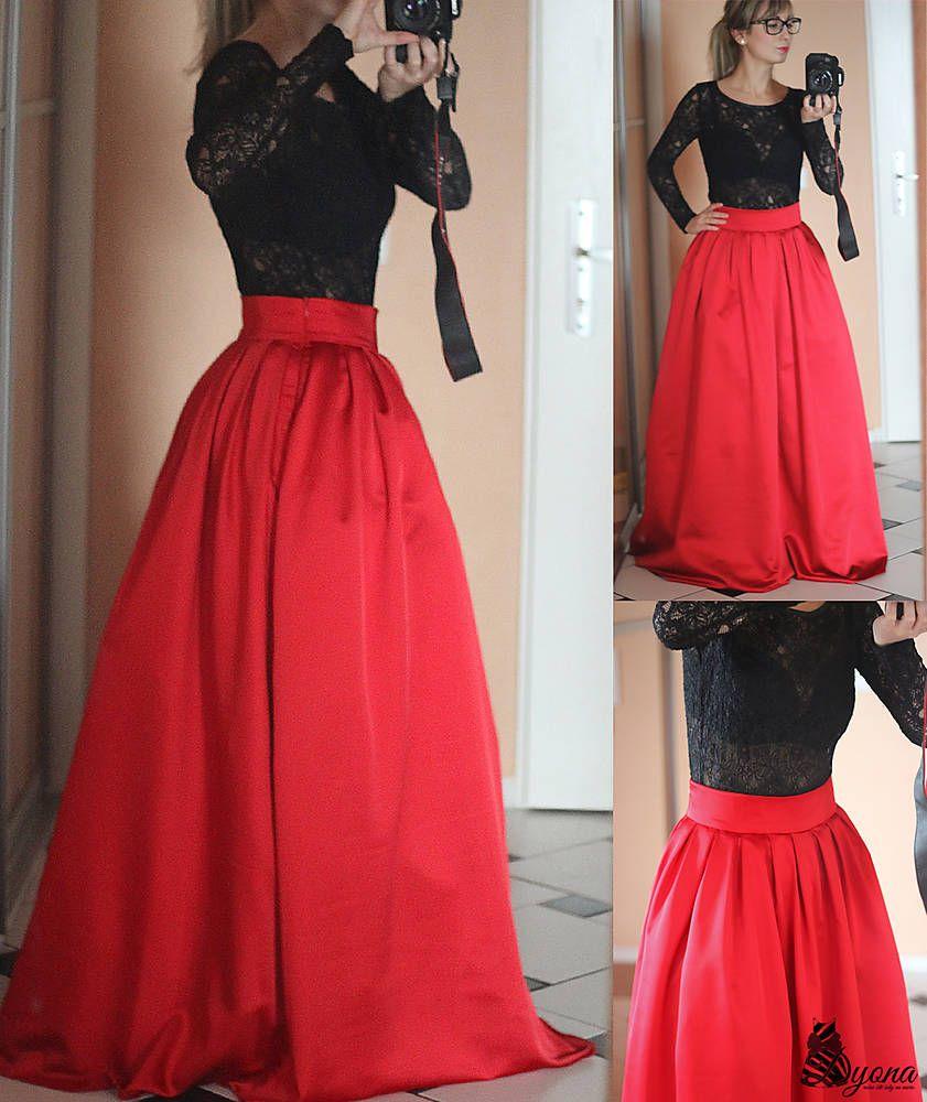 101d6ae17f5d Spoločenská skladaná sukňa rôzne farby Ručne Vyrobené