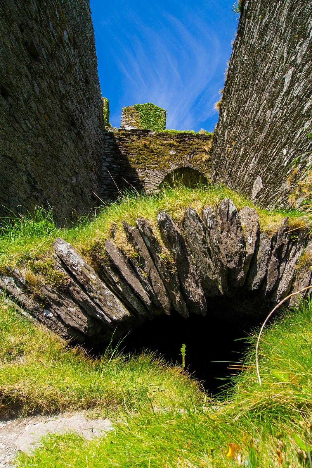 Ballycarbery Castle, Ring of Kerry Ballycarbery castle