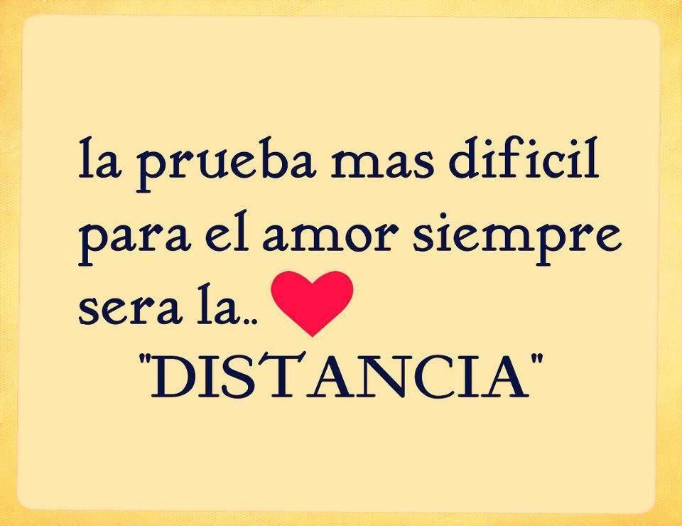 Amor A Distancia Frases Bonitas La Prueba Mas Dificil Para El Amor