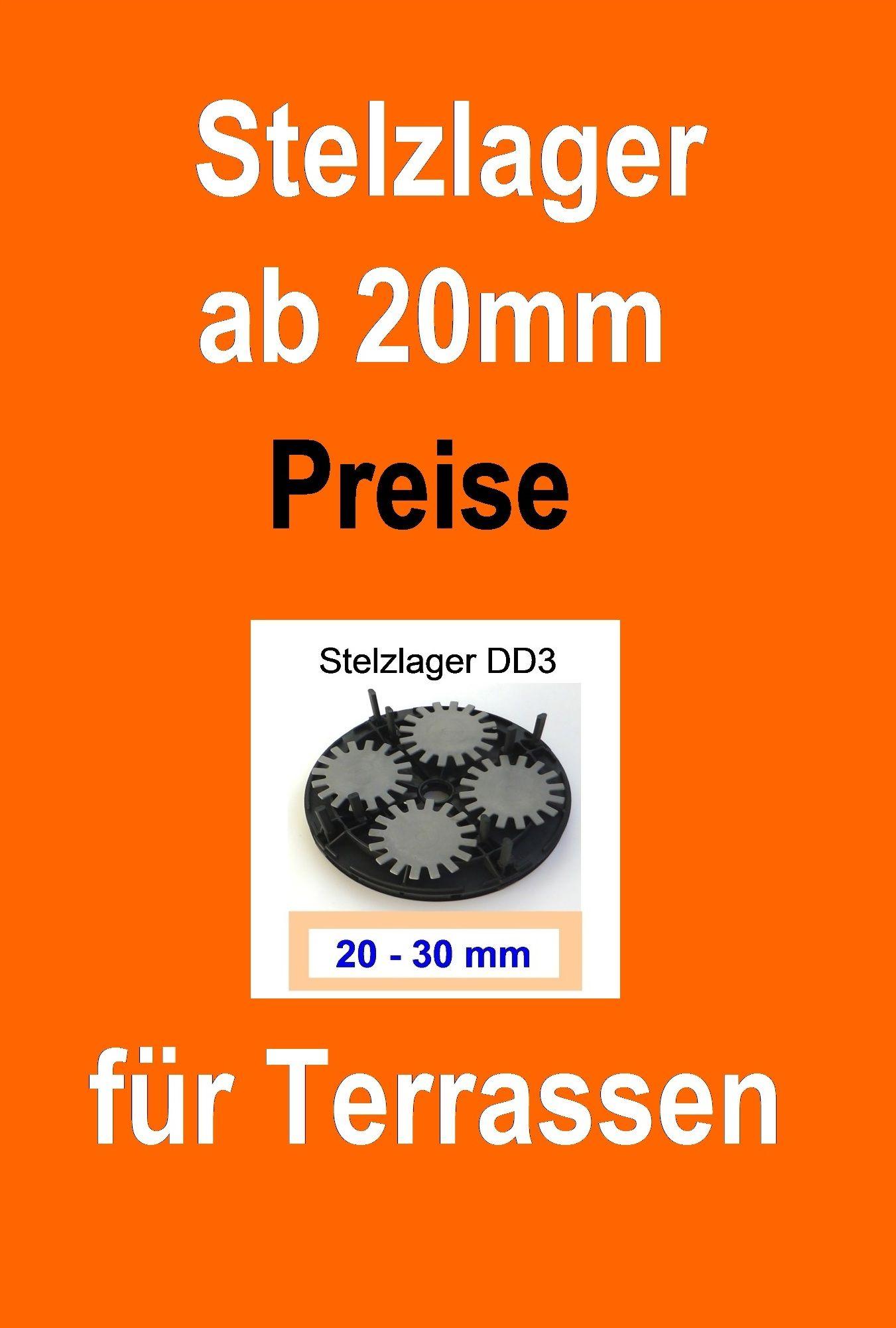 StelzlagerPreise Für Terrassen Stelzlager Angebote Pinterest - Terrassenplatten für dachterrasse