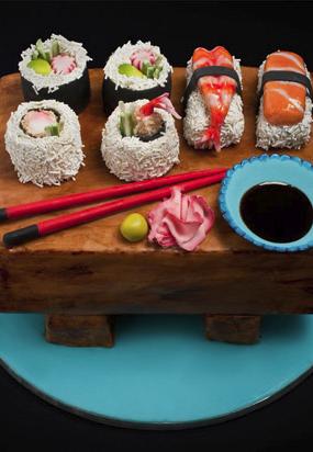 Crazy Cakes You Won T Believe Are Real Slideshow Crazy Cakes Sushi Cake Amazing Cakes