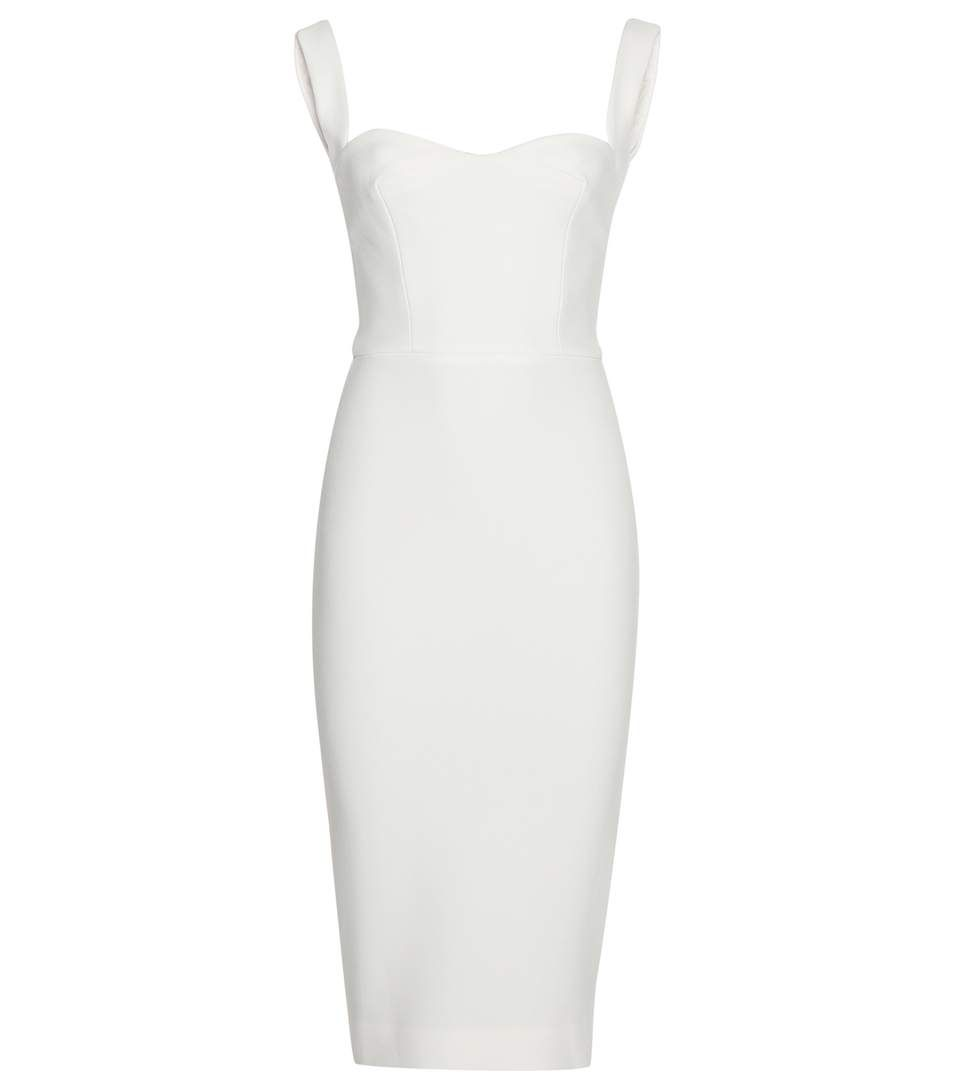 Victoria Beckham - Curve Cami fitted dress - This structurally seamed number comes with curved cami straps and sculpts the contours of the body for a figure-flattering finish. A sweetheart neckline adds a touch of romance, guaranteed to get you noticed for all the right reasons. - @ www.mytheresa.com