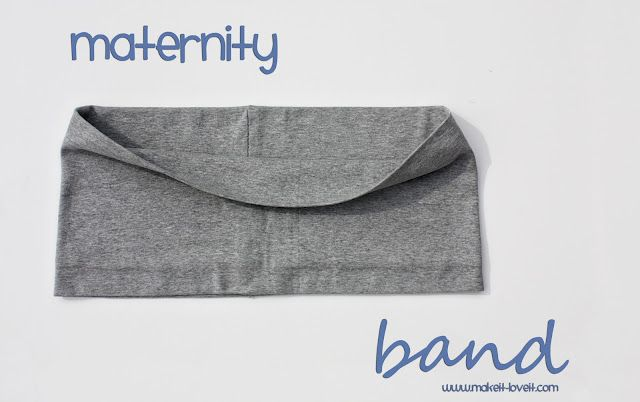 Maternity Band | Make It and Love It