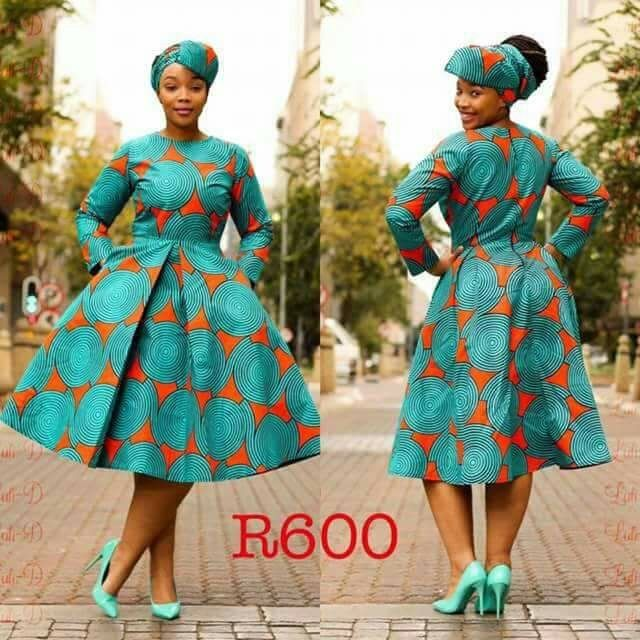 Lovely Shweshwe Dresses Of South African ???