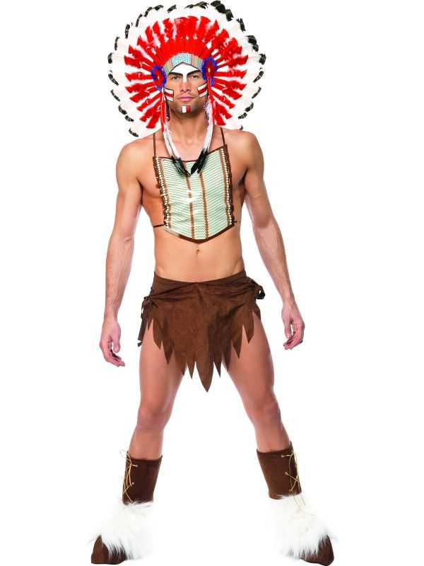 Mens Indian Costume - Village People  Costume Ideas -4759