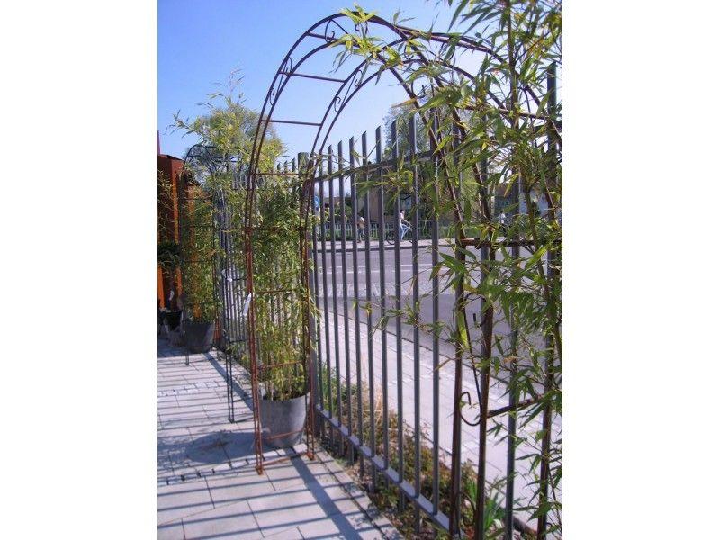 Rosenbogen Modern rosenbogen pergola metallrosenbogen 1 20 m 2 00 m rund garden