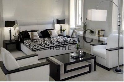 Home Decor Furniture. This Black And White Looks Great!!!