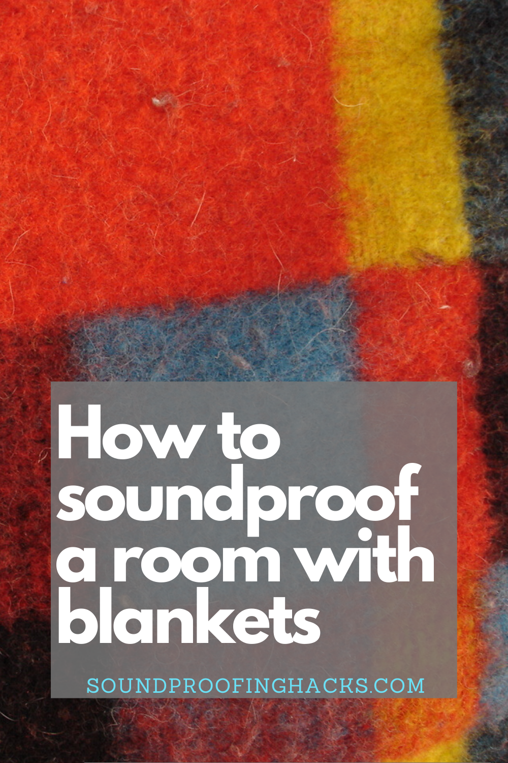 How to soundproof a room with blankets in 2020 Sound