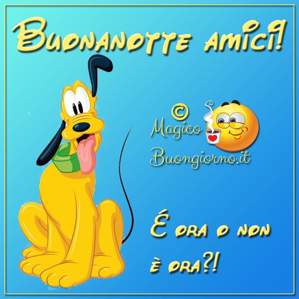 Buonanotte Con Pluto Immagini Belle Per Whatsapp