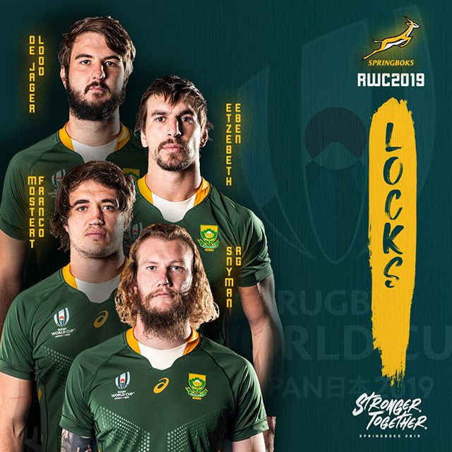 Springbok World Cup Squad Announced Are You Ready South Africa Strongertogether Springboks Rugby South Africa Springbok Rugby Rugby