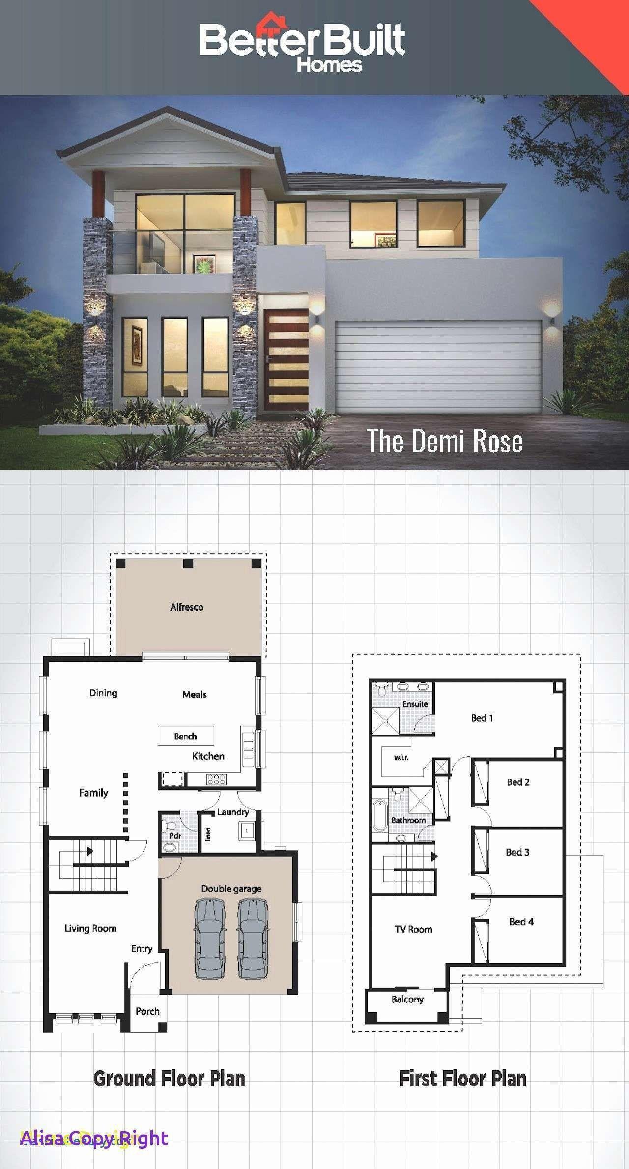 Modern House Designs And Plans Free Modern House Plans House Blueprints Desain Rumah Bungalow Desain Rumah Kecil