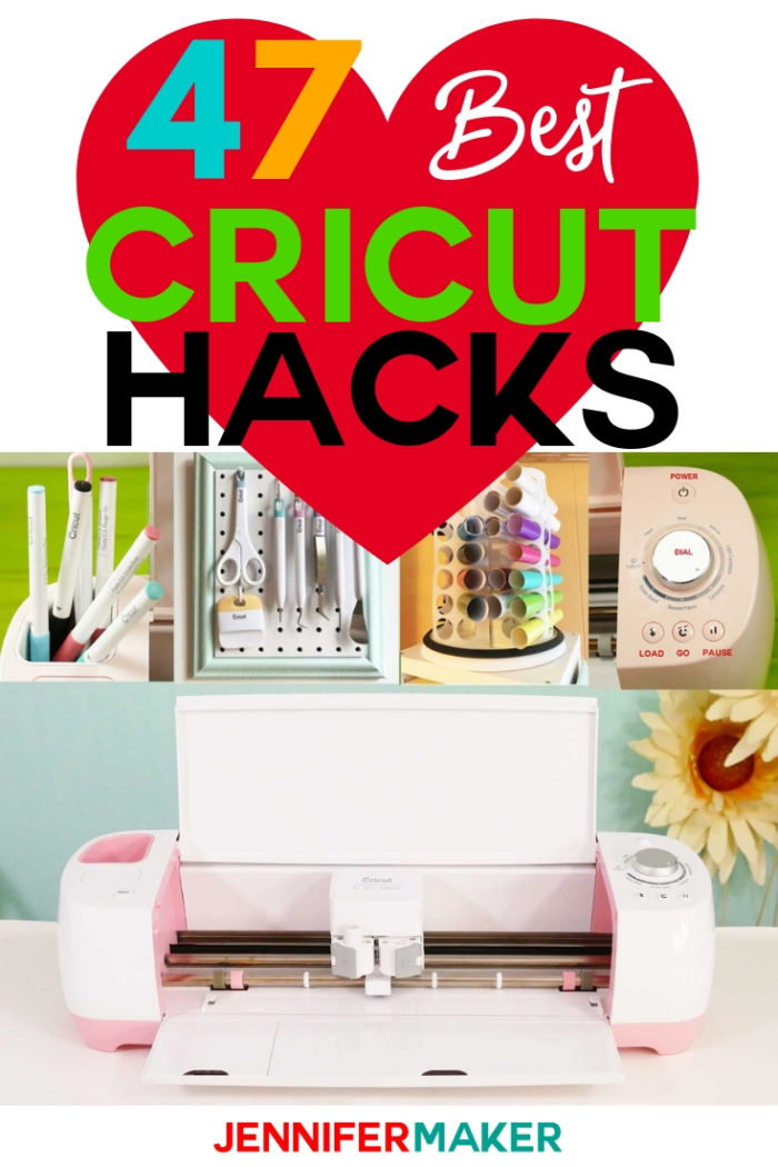 Cricut Tips and Tricks For Better, Easier Crafting - Jennifer Maker