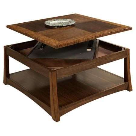 andover coffee table with dual lift top