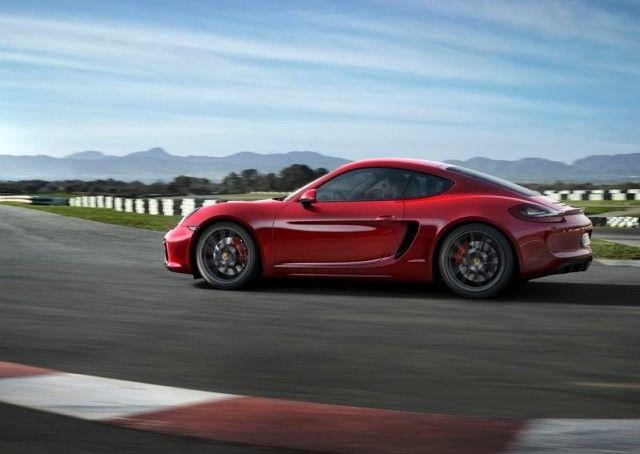 2016 Porsche Cayman Facelift Side View Ingrids Porsche Family
