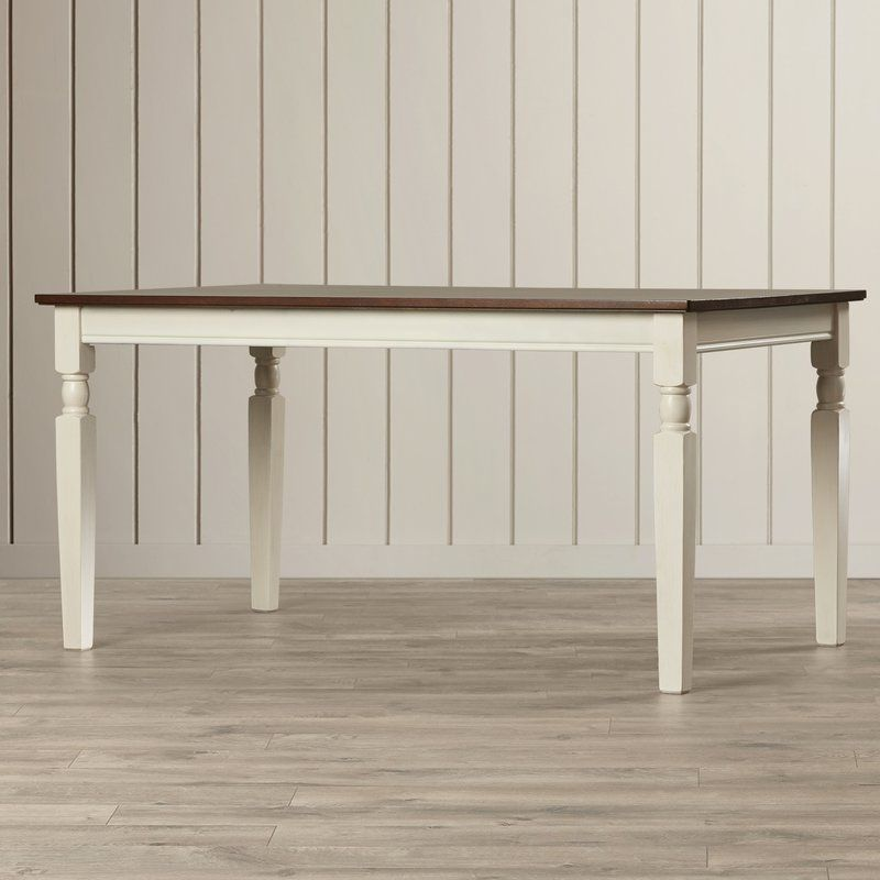 Ellenton Counter Height Extendable Solid Wood Dining Table