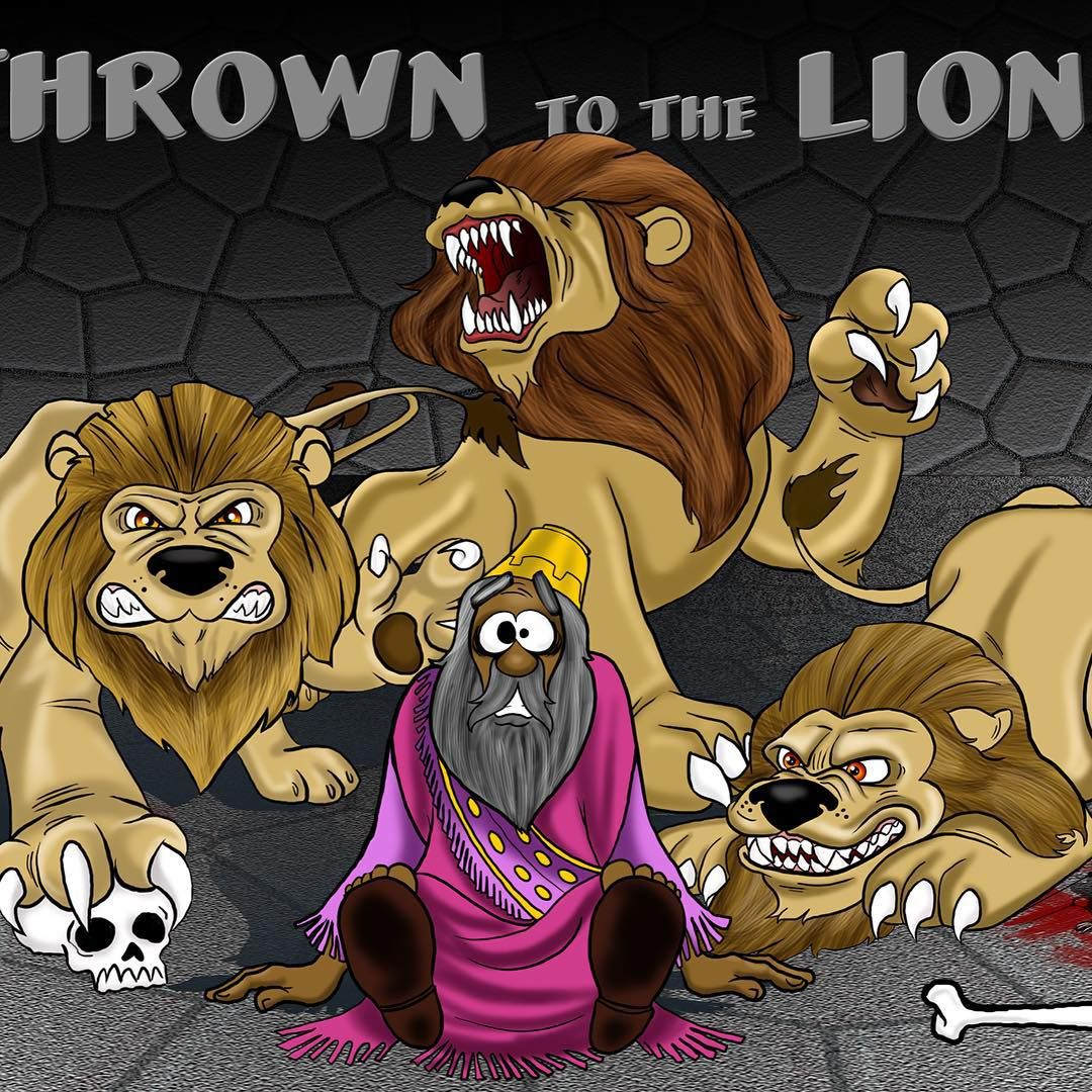 Free download!! Bible story Thrown To the Lions available ...