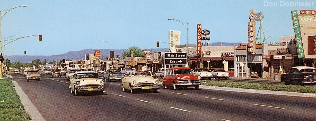 Costa Mesa In The 1950s I Think That Hardware Store Is Where Eat
